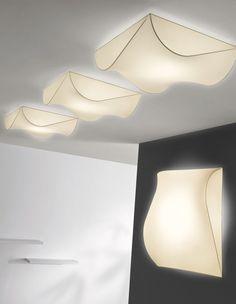 Fabric ceiling light STORMY | Ceiling light - AXO LIGHT
