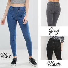 Jeans Leggings, Jeggings, Blue Jeans, Skinny Jeans, Pants, Hide Belly, Perfect Fit, Cloths, Yellow