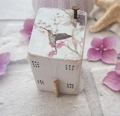 Sweet little Salty Sea Cottage! I live close to the beautiful historic harbour of Charlestown in Cornwall and have taken inspiration from the colourful fishing cottages that surround the area These rustic, handmade, freestanding coastal homes look beautiful on their own or grouped