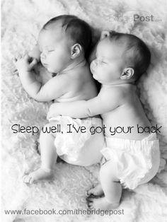 SLEEP WELL, I'VE GOT YOUR BACK