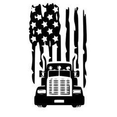 Flag Vector, Vector Art, Silhouette Machine, Car Silhouette, Silhouette Files, Vinyl Cutting, Semi Trucks, Silhouette Design, Svg Cuts