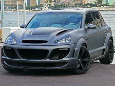Porsche Cayenne Gemballa Tornado... #Porsche Cayenne Gemballa Tornado...