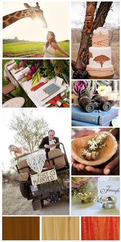 Safari Wedding @Andrea / FICTILIS / FICTILIS / FICTILIS Palmer Griffith it CAN be done!