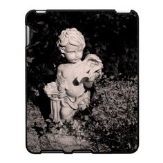 'THE READING ANGEL' iPAD CASE, by The Flying Pig Gallery on Zazzle (lizadeyphoto) - This little cherub is reading his favorite book. Perfect for educators or those that love reading.