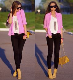 what to wear with red booties - Google Search | Getting Out of ...