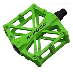 Lightweight Green Coated Aluminium Alloy Bicycle Pedal 1 pair -- Check out the image by visiting the link. (Note:Amazon affiliate link)
