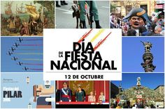 #SpanishFiestas #FiestaNacional #ElPilar  The Fiesta Nacional de España is the national day of Spain. It is held annually on October 12 and is a national holiday. It commemorates the anniversary of Christopher Columbus's first arrival in the Americas, a day also celebrated in other countries. It's celebrated in a special way in Zaragoza: the Ofrenda de Flores, the most important event in the festival of the Fiestas del Pilar, takes place this day. #TomaTours
