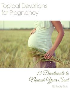 """Pregnancy Update from Abiding Woman and """"Topical Devotions for Pregnancy"""" Ebook Review and Giveaway!!!"""