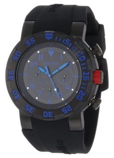 red line Men's RL-50027-BB-01BL RPM Black Dial Black Silicone Watch Red Line. $59.99. luminous. black silicone strap. Quartz movement. black ion-plated stainless steel crown with red accent. unidirectional bezel with blue arabic numerals. black ion-plated stainless steel case. Mineral crystal. Day, date and 24 hour subdials with blue hands. Black dial with blue hands and arabic numerals. Water-resistant to 100 M (330 feet)