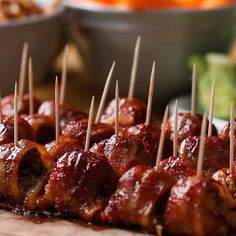 BBQ Bacon Ice Tray Meatballs