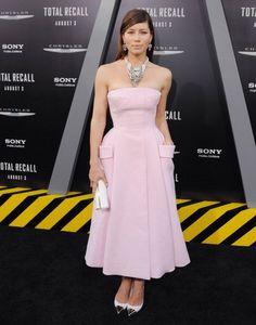 Jessica Biel in Dior!