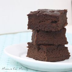 Black bean brownies. I tried another recipe before, and wasn't crazy about them, this one looks different, so I'll give it a try. :)