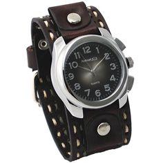 Nemesis Unisex 091KDTB Elegant Gradient Design Leather Band Watch $50 (4% OFF)