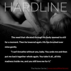 #Teaser #Hardline www.meredithwild.com