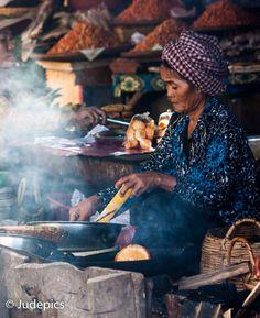Fish Market . Cambodia