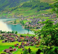 Lungern, Switzerland by aremac. One day I will be there! #travel #switzerland