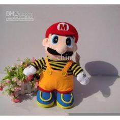 Wholesale - Plush toys King-size Super Mario Plush toys Standing position plush doll 53cm