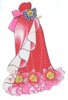 Bride Set Anime of Paper Dolls Book, Vintage Paper Dolls, Doll Japan, Manga, Anime Style, Coloring Books, Nostalgia, Aurora Sleeping Beauty, Animation