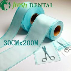 88.99$  Watch here - http://ali0n7.worldwells.pw/go.php?t=32596988661 - Dental 30CM*200meters disinfection volume flat heat-sealed bags sterile disinfection consumption films sterilized bag SL-CS1135