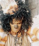 "bluemoonwalker: Michael Jackson as the Scarecrow on ""The Wiz"" (1978)Scarecrow: ""The results of the first experiment: Subject is a hopeless failure""Dorothy: ""You are not. You are just a product of some negative thinking"""