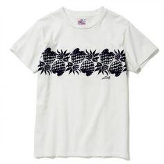 """""""DUKE'S PINEAPPLE"""" T-Shirt (White)"""