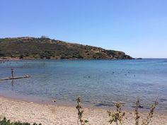 Sunion Attica, Greece, with Temple of Poseidon