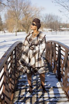 Who said you can't slay on a cold winter day?  You don't have to look frumpy and bundled up…here's how you kick the winter blues.  This outfit will make you excited when the temperatures drop! I purchased this outfit from my favorite boutique Ooh La La Boutique & Spa in Gurnee, IL.  Headwrap is from (Amazon.com $3.99).  Suede booties are from the clearance rack at (BCBG $22.99)! Boutique Spa, Winter Day, Suede Booties, Head Wraps, Slay, Winter Outfits, Blues, Kicks, That Look
