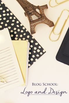 Blog School: Logo and Design // by The Yuppie Files