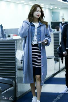 Sooyoung airport fashion