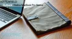 """WaterField Outback Sleeve for 13"""" Retina MacBook ProReview - Gadget and Accessory Reviews - Gadgetmac"""