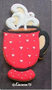 "Tasse à thé Cookie Cutter 3/"" Party Dress Up Café Tasse à Thé"