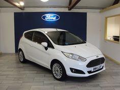 Ford Fiesta 1.0 EcoBoost Titanium 3dr Hatchback Petrol White
