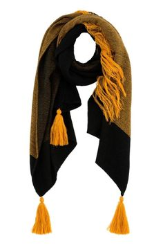 """Multi color scarf with tassels.L 80"""" x W 35"""".   Sienna Scarf by Shiraleah. Accessories - Scarves & Wraps North Shore, Boston, Massachusetts"""