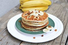 Food Cakes, Health Diet, Banana Bread, Cake Recipes, Pancakes, Bakery, Deserts, Food And Drink, Breakfast