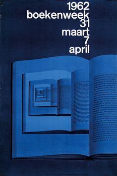 Wim Crouwel - National Bookweek, 1962
