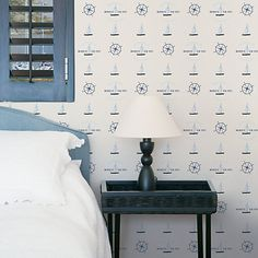Buy Galerie Yacht Design Paste the Wall Wallpaper Online at johnlewis.com