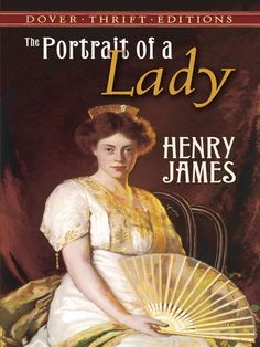 The Portrait of a Lady by Henry James  Isabel Archer, a young American, accompanies her eccentric aunt to Europe, where her wit and beauty—in addition to her substantial inheritance—quickly attract all manner of eager suitors. But beneath the romantic elegance of salons and ballrooms lies a tangle of treachery, deceit, and suffering.The most enduringly popular of Henry James' novels, The Portrait of a Lady reflects the author's interest in the... #doverthrift #classiclit ...