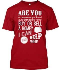 Wear the shirt, get real estate leads!