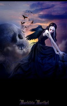✝An Art Edit Made By Morbidia Morthel Gothic Fantasy Art Edit Made By Morbidia Morthel OnDeviantArt. Dark Fantasy Art, Dark Gothic Art, Gothic Pictures, Gothic Images, Gothic Angel, Gothic Fairy, Angels And Demons, Dark Angels, Fallen Angels