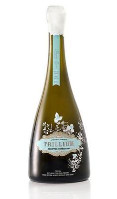 Trillium Absinthe #packaging #design