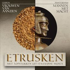 Poster tentoonstelling 'Etrusken'
