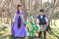Tangled costume tuto