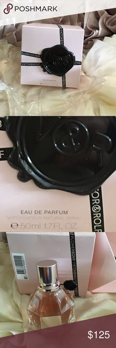 💋💋💋MB Viktor@Rolf flower boom authentic 💋 💋never used in box just opened to show bottle tab never removed brand new 1.7fl 0z eau de parfume brought in Neman Marcus Viktor & Rolf Makeup