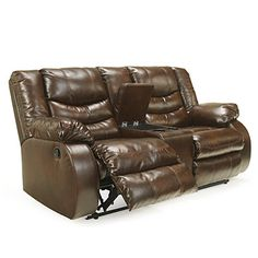 Signature Design by Ashley® McCarron Double Reclining Loveseat with Console at Big Lots.
