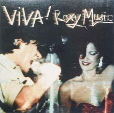 Roxy Music - Viva! Vinyl Record Art, Vinyl Records, Lp Cover, Cover Art, Classic Album Covers, Rock Cover, Roxy Music, 70s Party, Best Albums