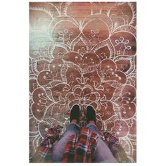 floor mandalas ~ be still my heart
