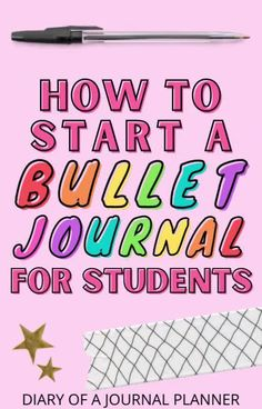 Tuen your productivity and time management skills with this ultimate guide to starting a 2021 bullet journal for students! #bulletjournalforstudents #bulletjournalbeginner Bullet Journal For Beginners, Bullet Journal Printables, Bullet Journal How To Start A, Bullet Journal Inspiration, Journal Ideas, Student Diary, Agenda Organization, Journal Writing Prompts, Time Management Skills