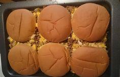 Käse-Burger-Auflauf