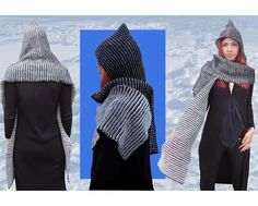 Looking for your next project? You're going to love Two-Color-Play Pixie Scoodie by designer HEh-Design.