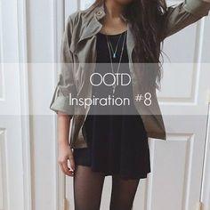 Mystery Girl: OOTD Inspiration | #8